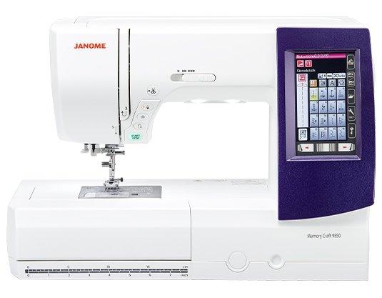Janome Memory Craft MC9850 SE