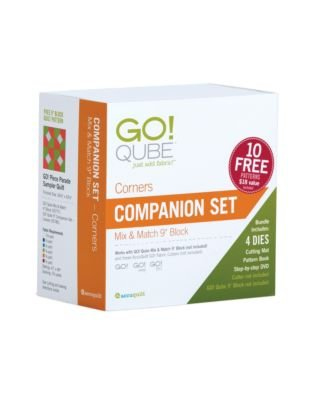 Accuquilt GO! Qube Companion Corners 9 55786