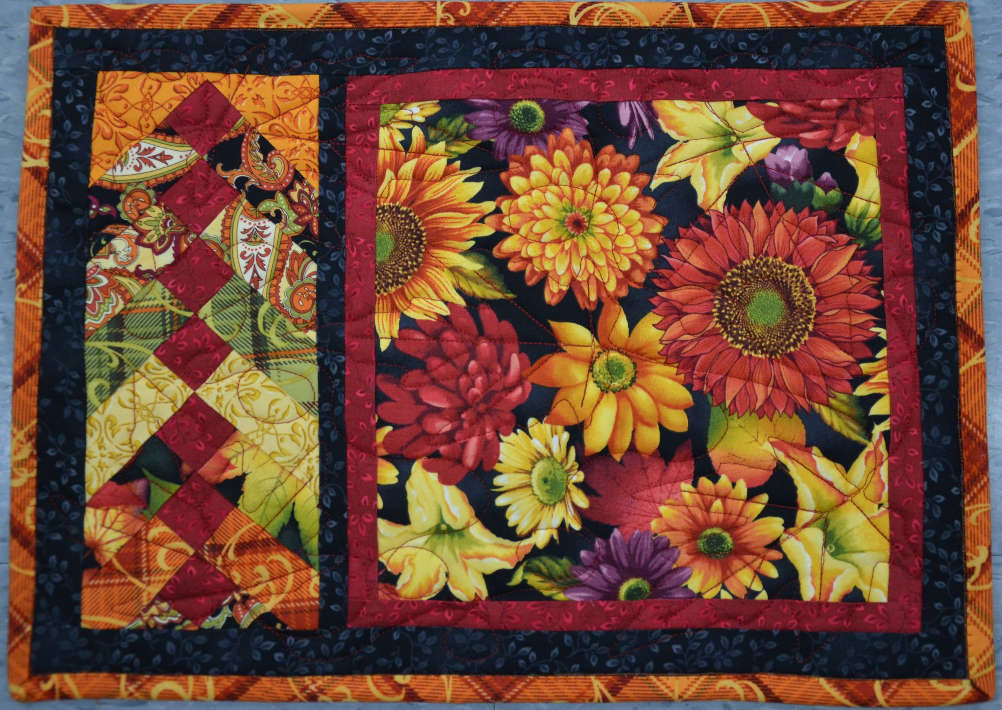 Autumn Time Place Mats (Set of 4) 16 1/2 x 12