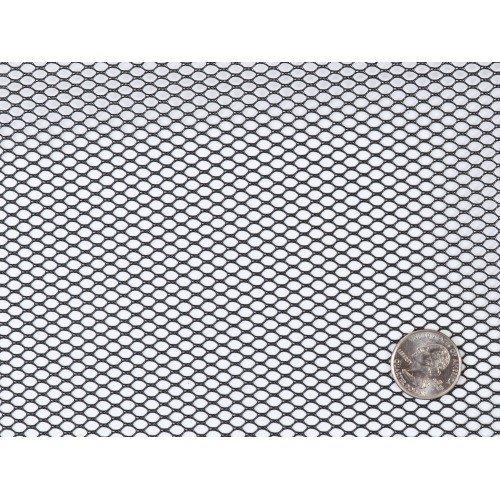 By Annie Lightweight Mesh Fabric SUP209-Black 18x54