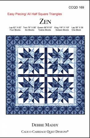 Calico Carriage Quilt Designs - Zen Pattern 169