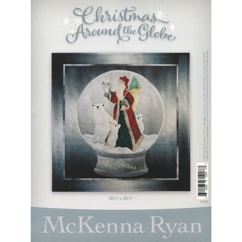 McKenna Ryan Laser Cut Kit Christmas Around The Globe with border and binding CG01