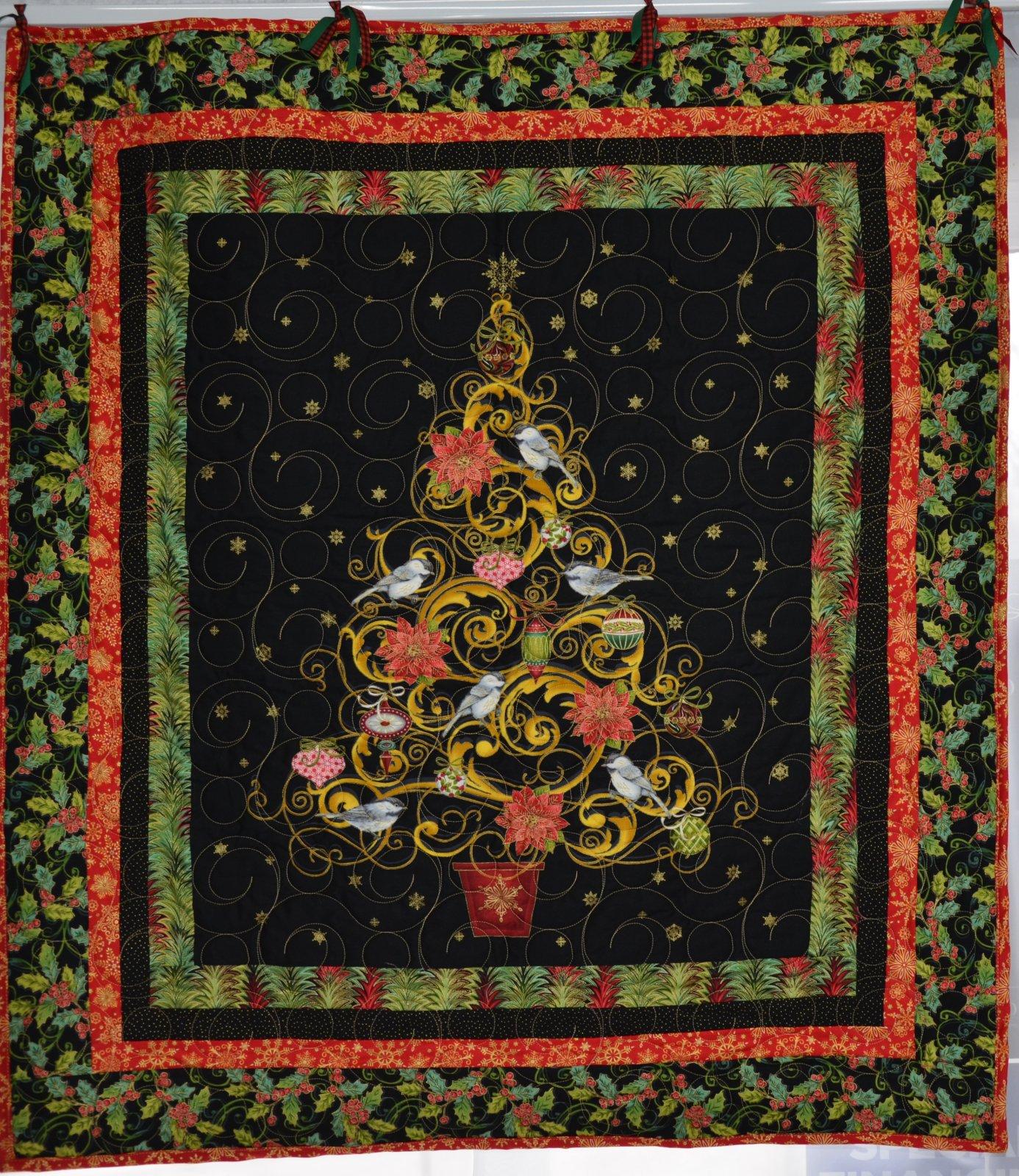 Christmas Joy Wall Hanging 35 x 39