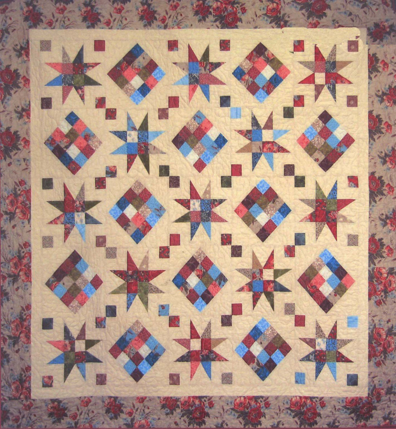 Cozy Quilt Designs - Rising Star Pattern SRR-RS2