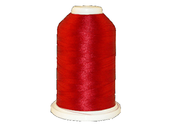 Brother Simplicity Pro 100% Polyester Color Fast, High Shine Embroidery Thread Candy Apple Red ETP0020