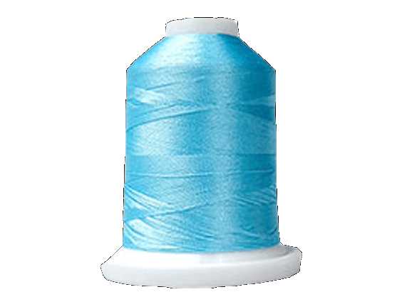 Brother Simplicity Pro 100% Polyester Color Fast, High Shine Embroidery Thread Light Blue ETP017