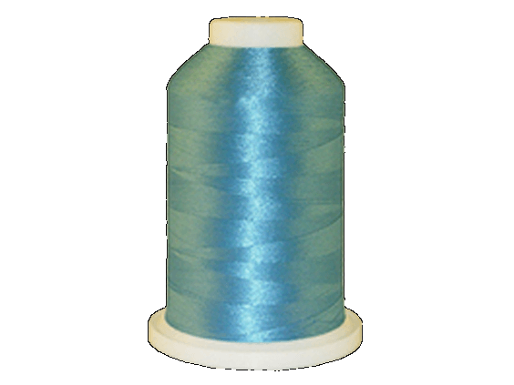 Brother Simplicity Pro 100% Polyester Color Fast, High Shine Embroidery Thread Misty Blue ETP0287