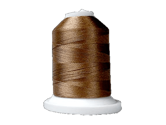Brother Simplicity Pro 100% Polyester Color Fast, High Shine Embroidery Thread Light Brown ETP323