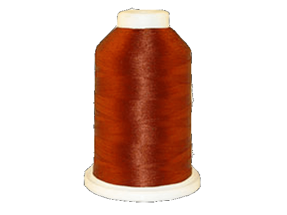 Brother Simplicity Pro 100% Polyester Color Fast, High Shine Embroidery Thread Clay Brown ETP339