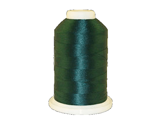 Brother Simplicity Pro 100% Polyester Color Fast, High Shine Embroidery Thread Peacock Blue ETP415