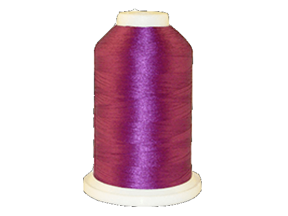 Brother Simplicity Pro 100% Polyester Color Fast, High Shine Embroidery Thread Magenta  ETP620