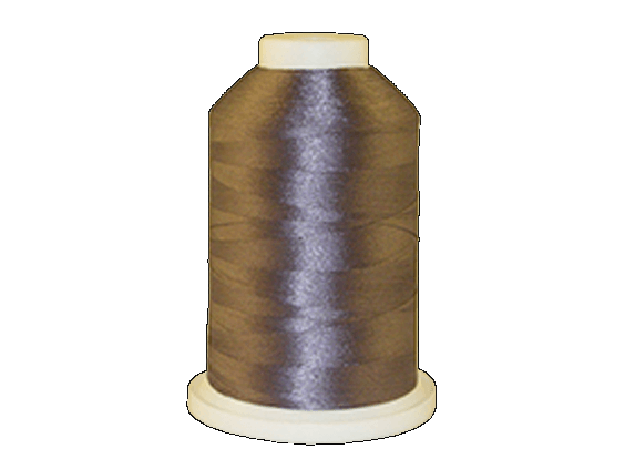 Brother Simplicity Pro 100% Polyester Color Fast, High Shine Embroidery Thread Pewter ETP704