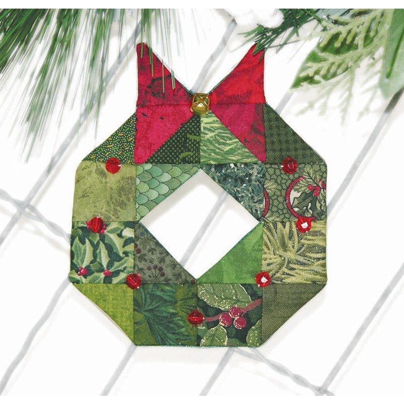 Espresso Ornament kit Wreath
