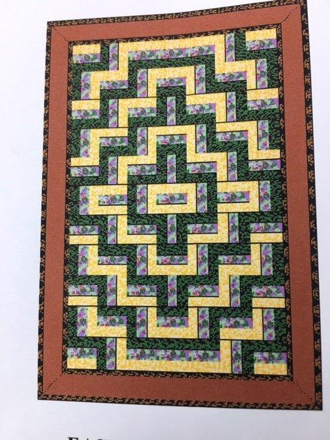 Five yard quilt 510 Pattern