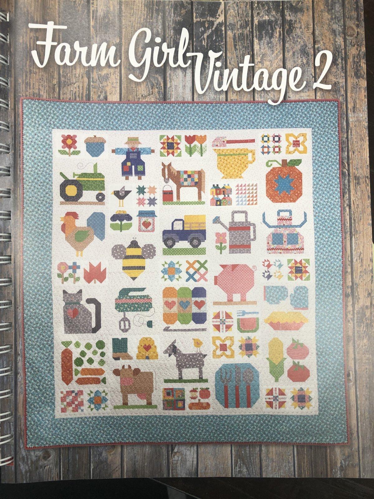 Riley Blake Farm Girl Vintage Bundle 1