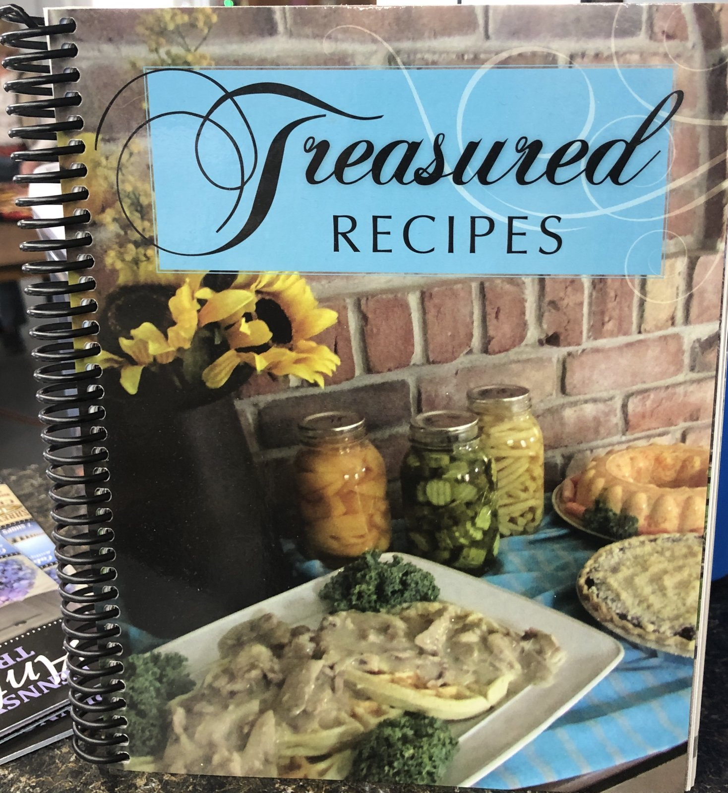 Treasured Recipes Cookbook
