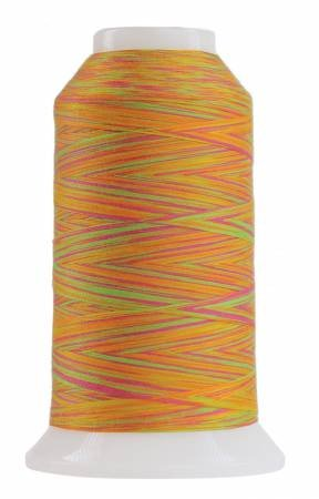 Omni Variegated Polyester Thread 40wt 2000yd Blow Stick 9043
