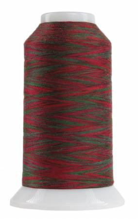 Omni Variegated Polyester Thread 40wt 2000yd Holly Berry 9050