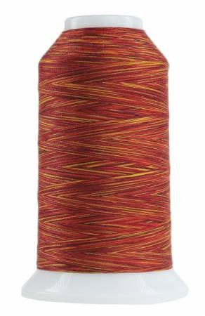 Omni Variegated Polyester Thread 40wt 2000yd Red Hot 9045