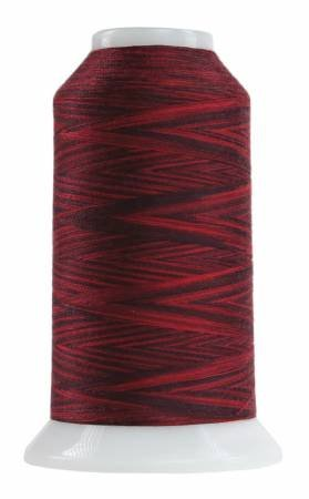 Omni Variegated Polyester Thread 40wt 2000yd Red Robin 9074
