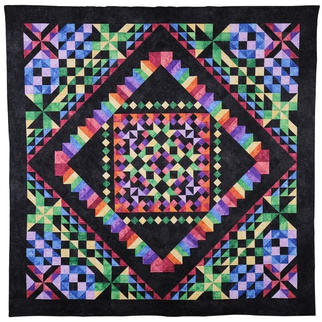 Northcott Kaleidoscope Quilt Kit