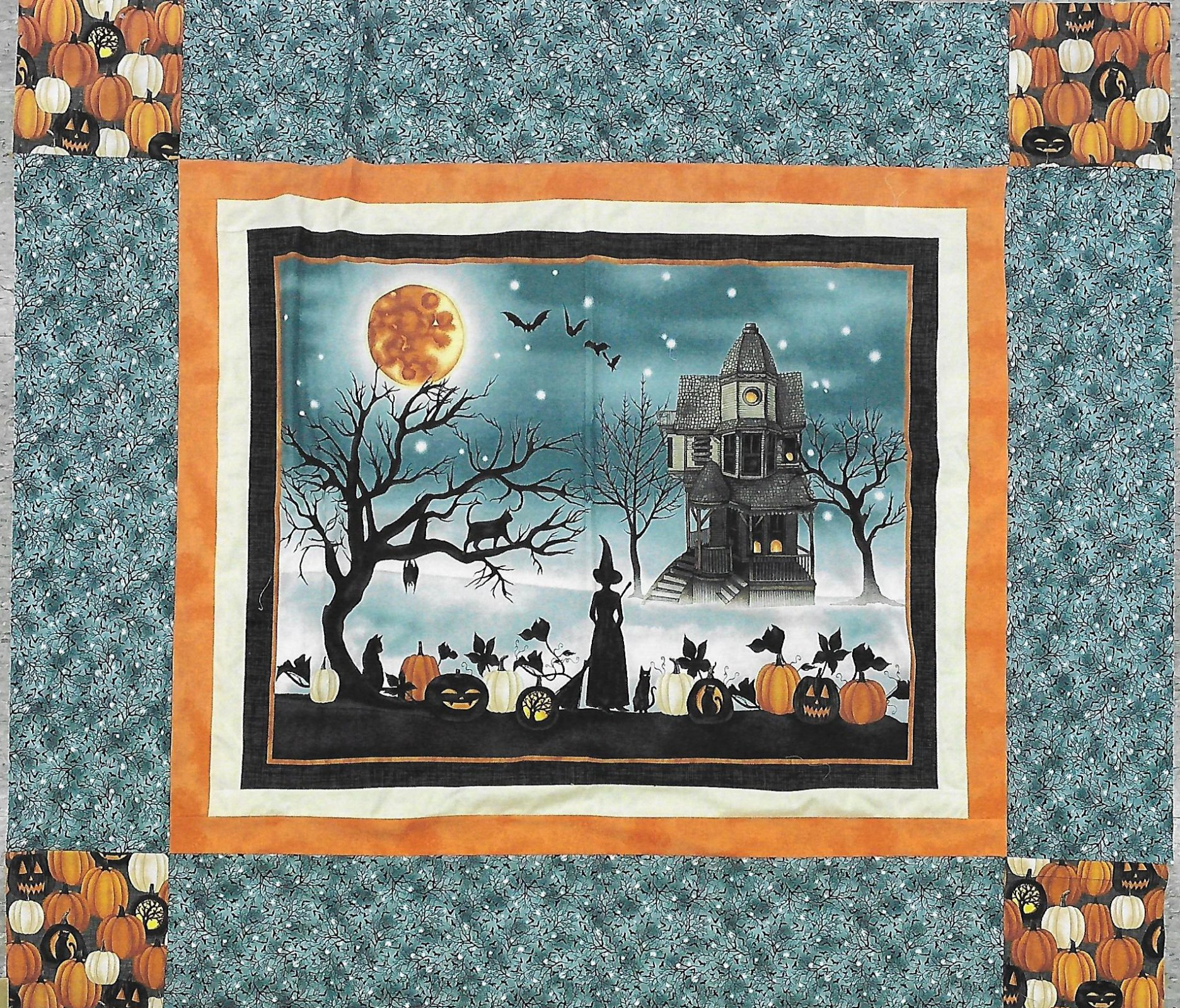 Cuddle Up Halloween Panel kit