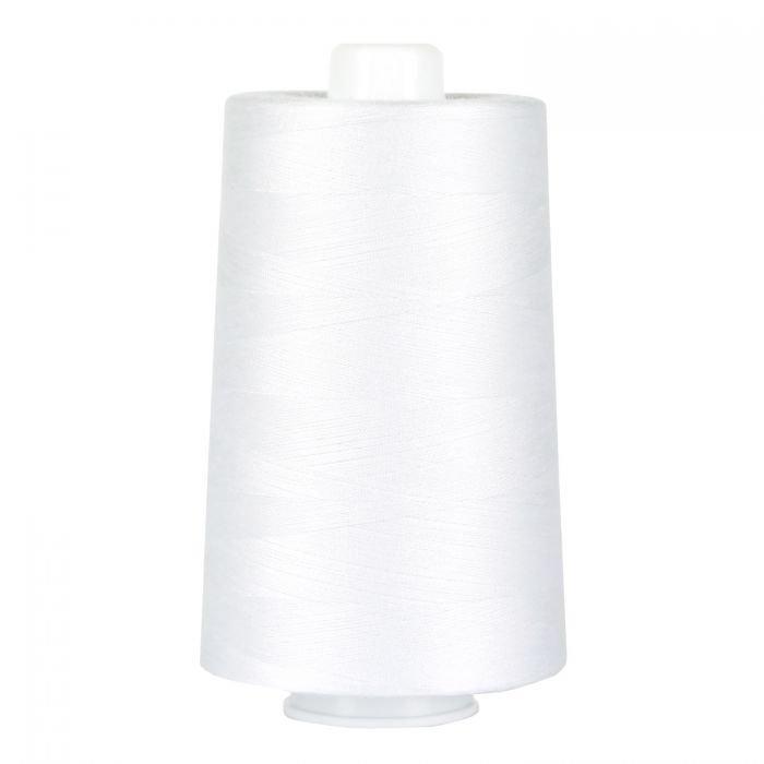 Omni Polyester Thread 40wt 6000yd Bright White 3001