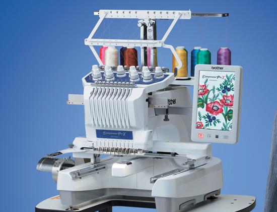 Brother - Entrepreneur Pro X 10 Needle Machine PR1055X
