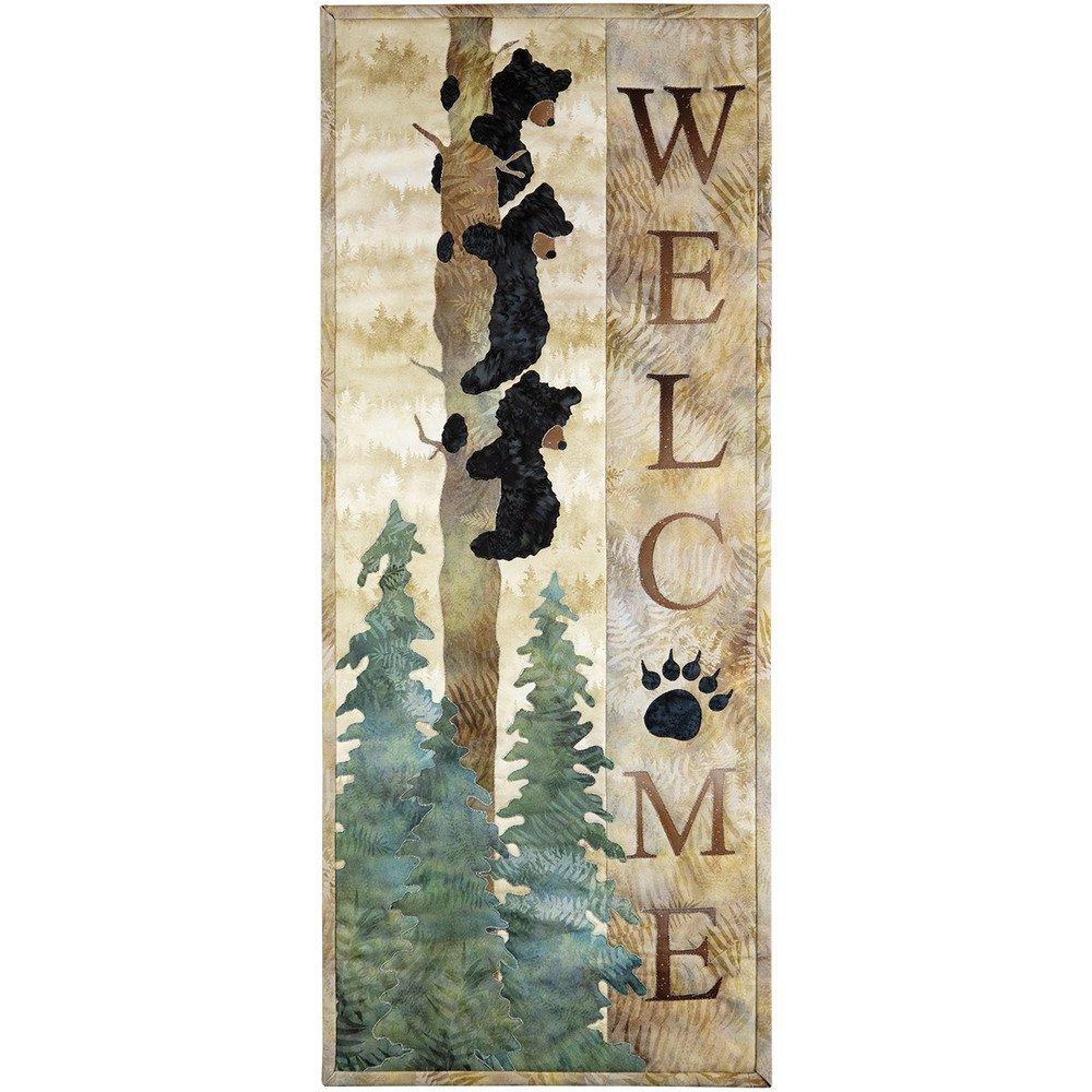 McKenna Ryan Laser Cut Kit Pattern for Welcome Bear Inn WELCOME