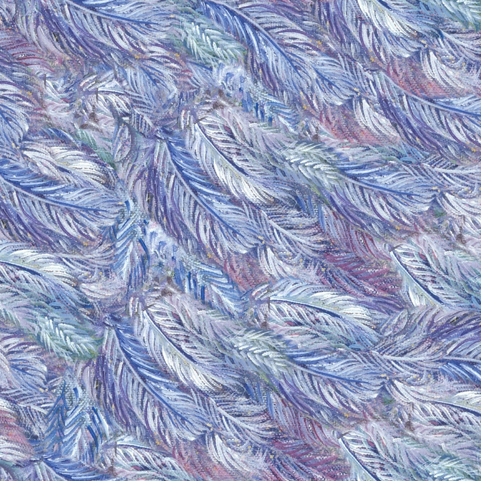 3 Wishes Celestial Journey by Josephine Wall 17135 MLT Feathers $12.20/yd
