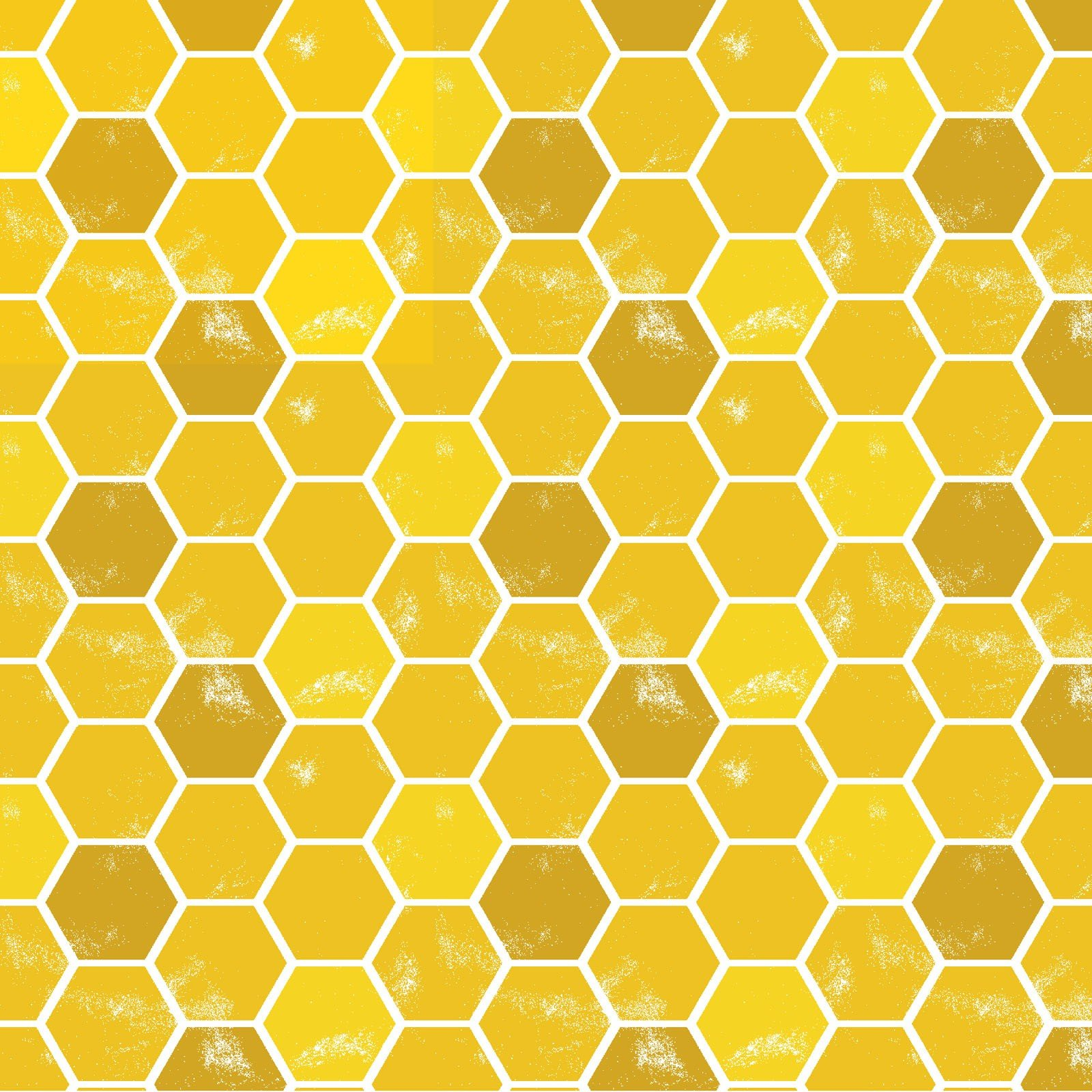 3 Wishes Feed the Bees by Deanne Beasley 17218 GLD Gold Honeycomb $8.30/yd