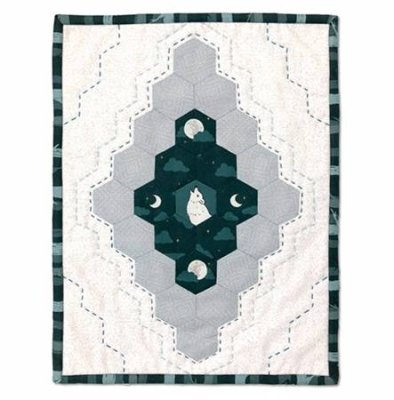 Windham Fabrics Night Song by Felice Regina NIGHT SONG NOCTURNE MINI QUILT KIT 50929QK 12 X 16 $33.00/EACH