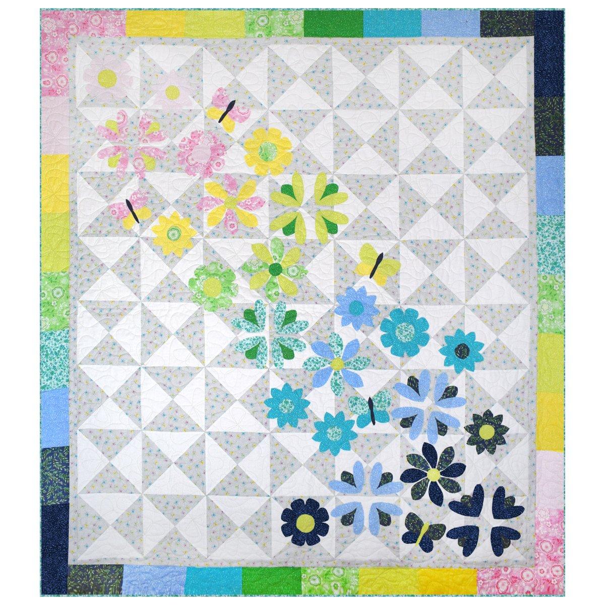 Windham Fabrics Kits - All A Flutter 51452QK Quilt Kit $93.70/per kit