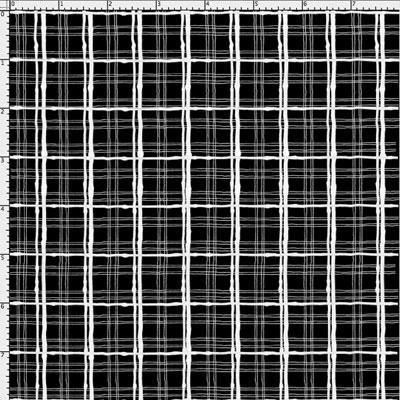Loralie Basics 691 894 Sophistiplaid Black with White $10.95/yd