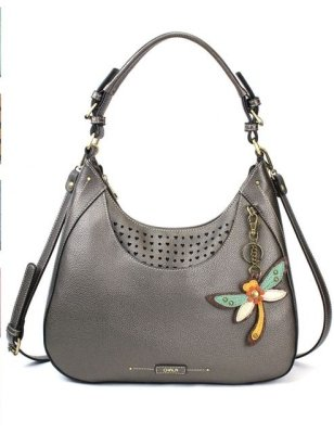 8b82d1f84 CHALA Dragonfly - Sweet Hobo/Tote in Pewter with Dragonfly 846df6 $66 each