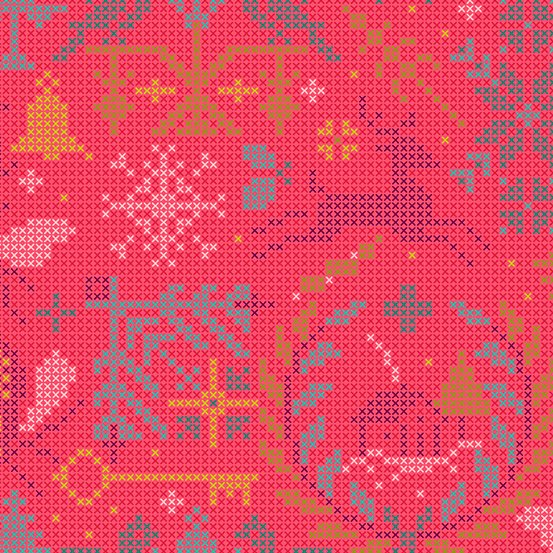 Andover Holiday by Alison Glass 9117 E $10.99/yd