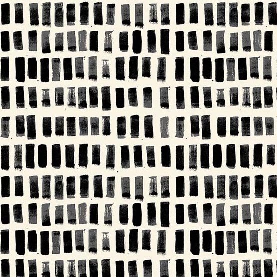 Andover Home by Sarah Golden A 9172 K Black Brush Strokes $10.99/yd