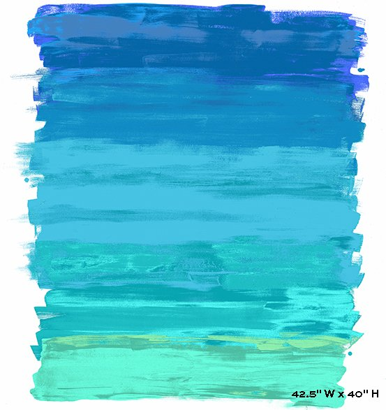 Andover Paint Digital by Kathy Hall AD 134 B $16.95 panel 42 x 40