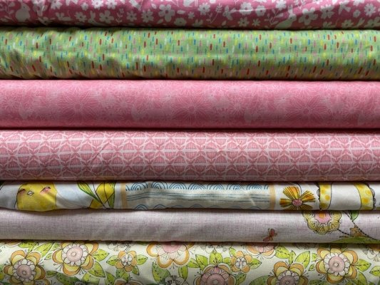 CLEARANCE SALE 7 YARD COLLECTION Blend MIX $45.95/each set of 7