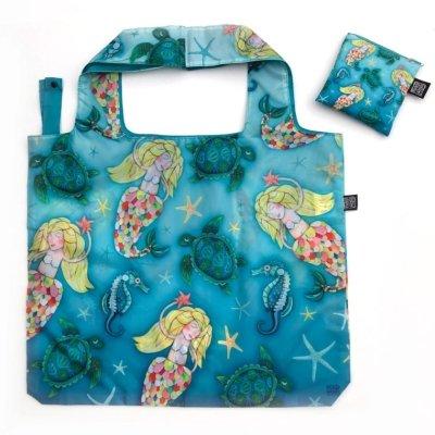 Allen Designs NEW! UNDER THE SEA FABRIC BAG / SHOPPING TOTE FB202 $12.95