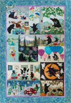 McKenna Ryan 12 Months of Happy FULL PATTERN SET OF 12 $140.00 each set of 12 Patterns