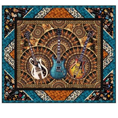 QT Fabrics Good Vibrations by Dan Morris KIT 3846 B Good Vibe Wall KIT $75.00/per kit