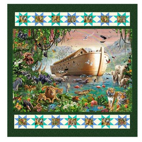 QT Fabrics Artworks XIV by Adrian Chesterman KIT 3847 B Noah's Ark KIT $57.00/per kit