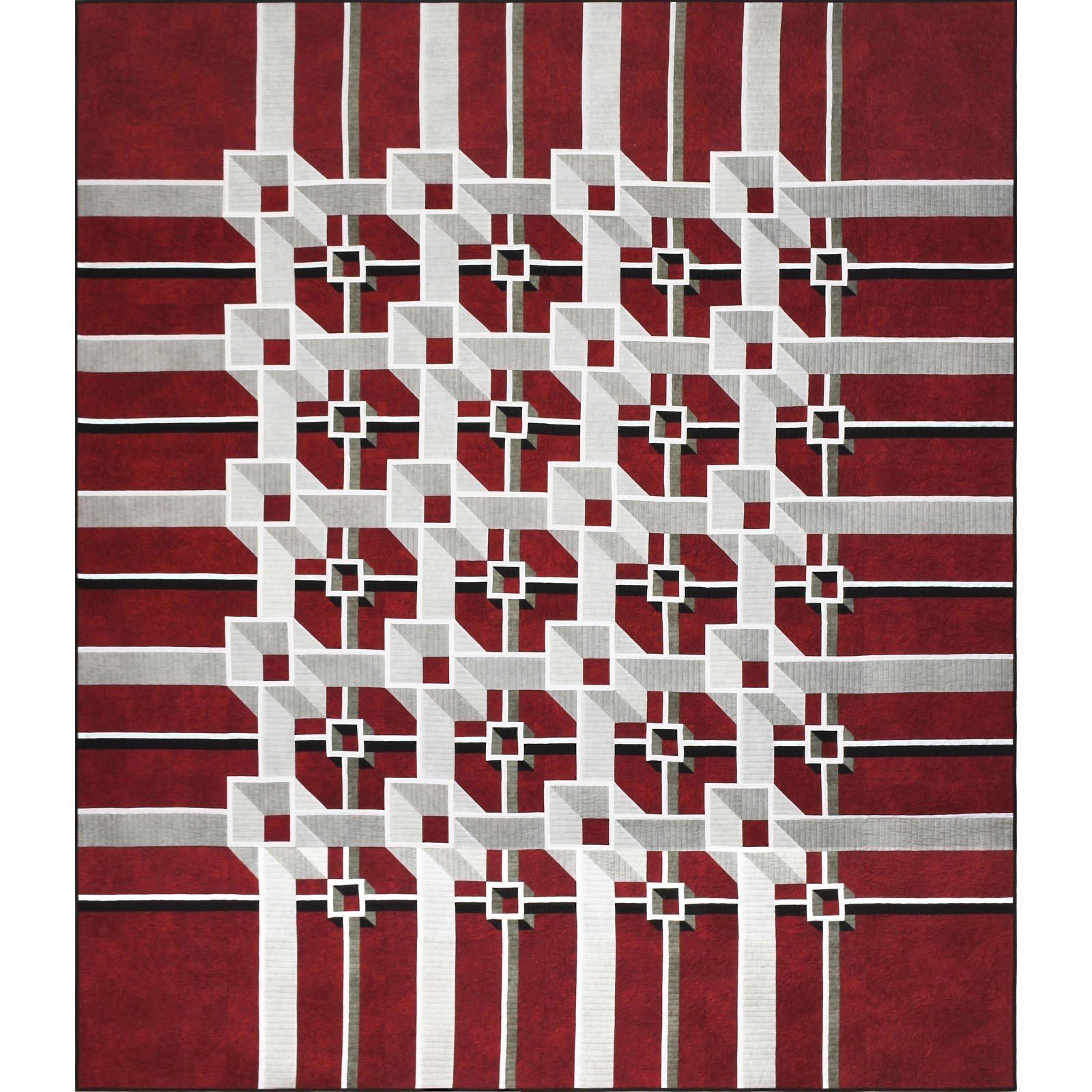The Guilty Quilter - KIT MASOOB Out of Bounds Quilt KIT $152.00/per kit