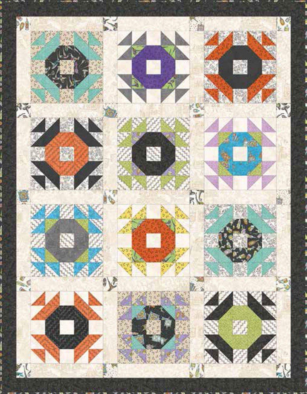 Maywood Salem Quilt Show by Meg Hawkey KIT MASSPB Spellbound Quilt Kit $133.00/each