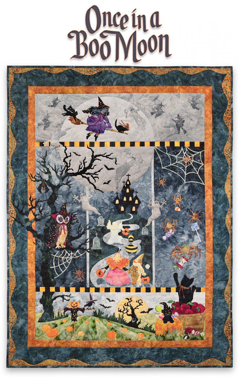 Mckenna Ryan Once In A Boo Moon Quilt Kit 34900per Kit