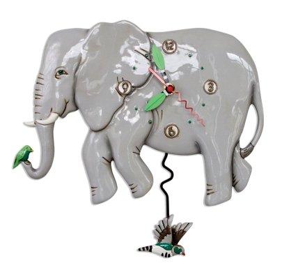 Allen Designs ELEPHANT Clock P1860 $60/ each NO INTERNATIONAL SHIPPING