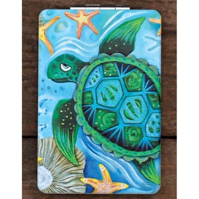 Allen Designs SEA TURTLE COMPACT MIRROR $4.50/ each