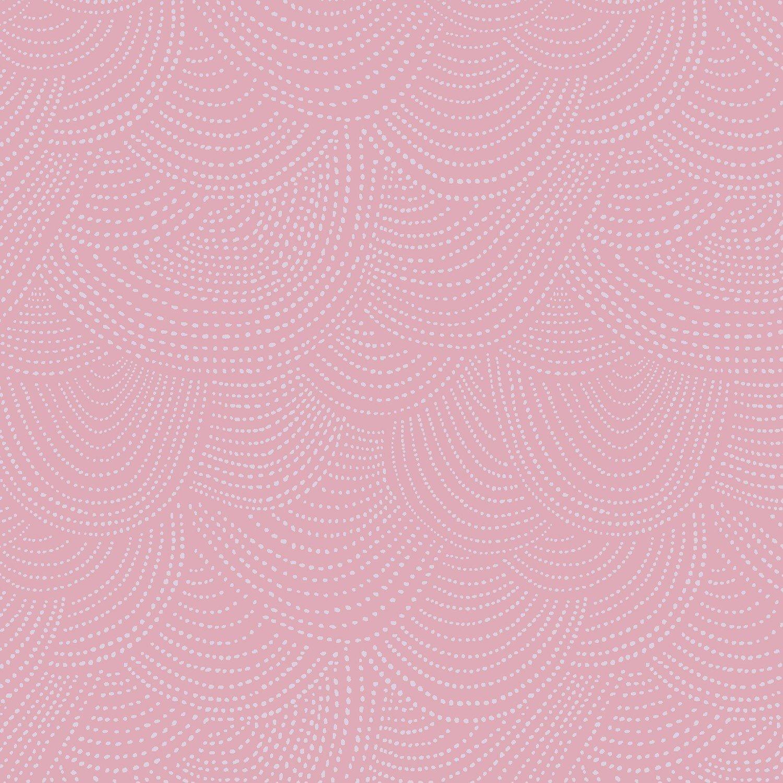 Dear Stella Pink Paradise by Rae Ritchie SRR 512 Lilac Scallops $10.50/yd