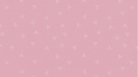 Dear Stella Pink Paradise by Rae Ritchie SRR 613 Lilac Triangle Dot $9.99/yd